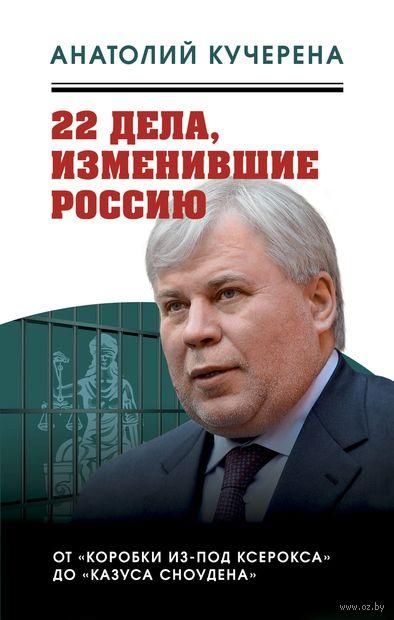 22 дела, изменившие Россию. Новейшая история глазами адвоката — фото, картинка