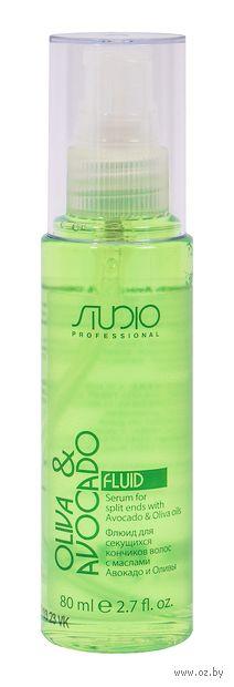 """Флюид для волос """"С маслами авокадо и оливы"""" (80 мл) — фото, картинка"""
