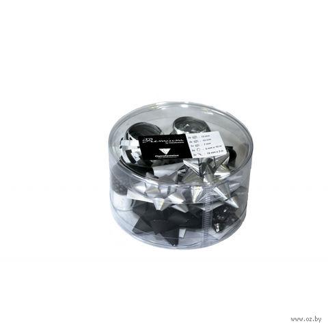 Набор для упаковки подарков Clairefontaine (черный/серебро)