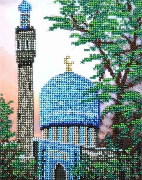 """Вышивка бисером """"Санкт-Петербургская Соборная Мечеть"""" (170х215 мм) — фото, картинка"""