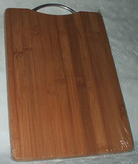 Доска разделочная бамбуковая (340х240х18 мм)