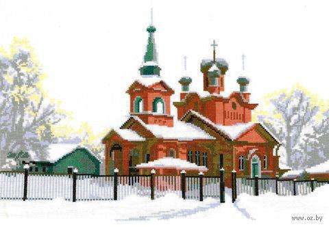 """Вышивка крестом """"Церковь Святого Александра"""""""