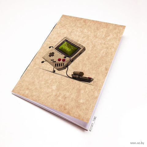"""Блокнот крафт """"Nintendo"""" А6 (962)"""