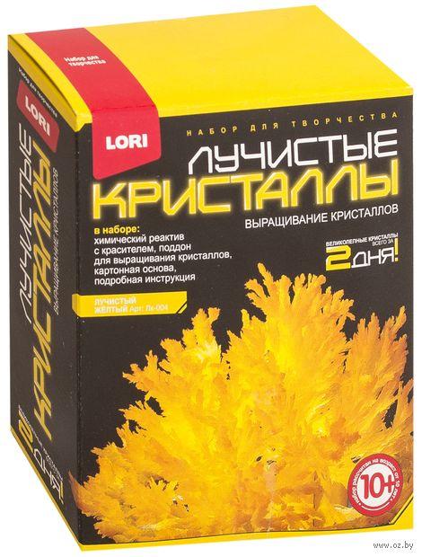"""Набор для выращивания кристаллов """"Лучистые кристаллы. Желтый"""" — фото, картинка"""