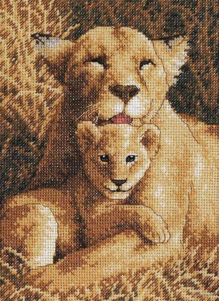 """Вышивка крестом """"Материнская гордость"""" (130x180 мм; арт. DMS-65075) — фото, картинка"""