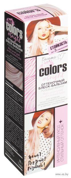 """Оттеночный блеск-бальзам для волос """"Hot Colors"""" тон: розовый жемчуг — фото, картинка"""