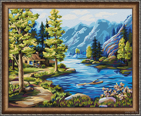 """Картина по номерам """"Северные виды"""" (400х500 мм) — фото, картинка"""
