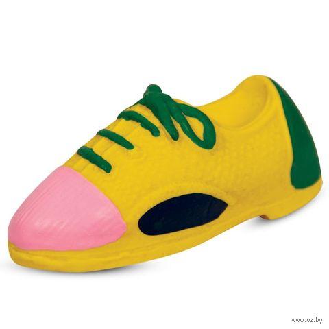 """Игрушка для собак с пищалкой """"Спортивный ботинок"""" (11,5 см) — фото, картинка"""