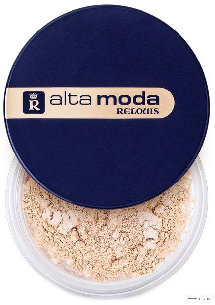 """Рассыпчатая пудра для лица """"Alta Moda"""" тон: 01 — фото, картинка"""