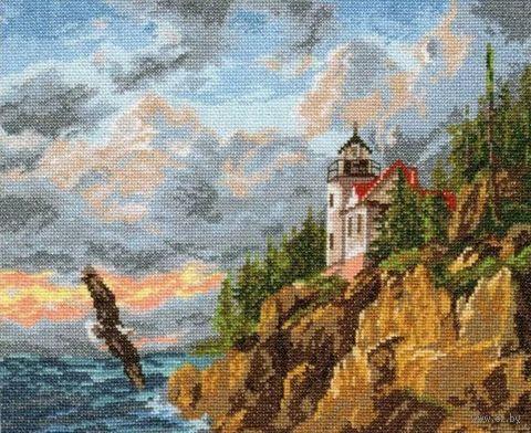 """Вышивка крестом """"Парящий орел"""" (320х240 мм) — фото, картинка"""