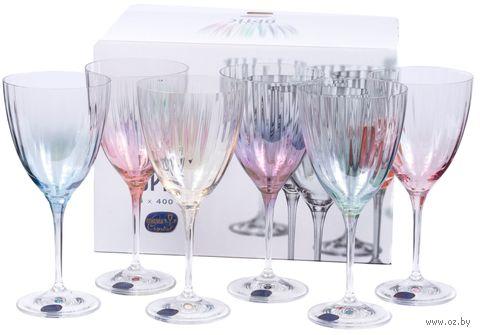 "Бокал для вина стеклянный ""Kate Optic"" (6 шт.; 400 мл) — фото, картинка"