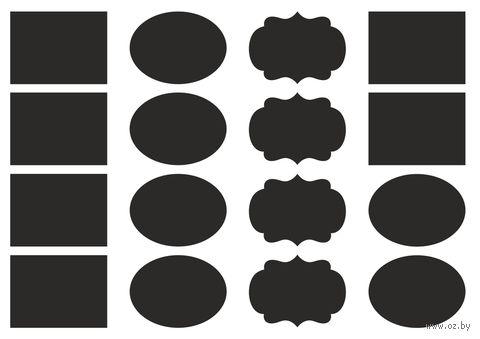 Набор наклеек (16 шт.; фигурные) — фото, картинка