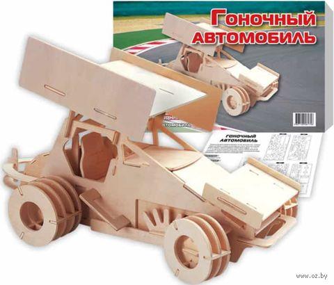 """Сборная деревянная модель """"Гоночный автомобиль"""" — фото, картинка"""