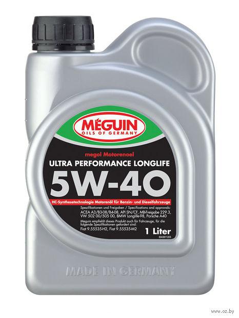 """Масло моторное """"Megol Ultra Performance Longlife"""" 5W-40 (1 л) — фото, картинка"""