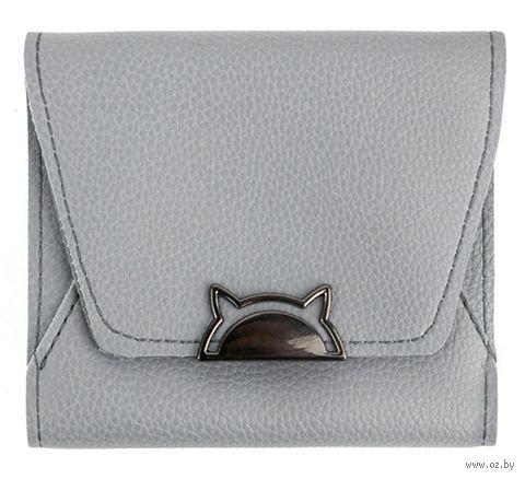 "Кошелёк ""Kitty"" (серый) — фото, картинка"