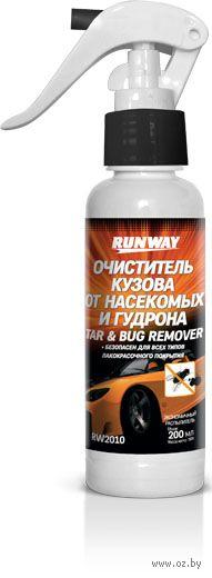Очиститель кузова от насекомых и гудрона (200 мл; арт. RW2010) — фото, картинка
