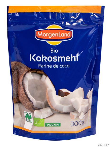 """Мука кокосовая """"MorgenLand"""" (300 г) — фото, картинка"""