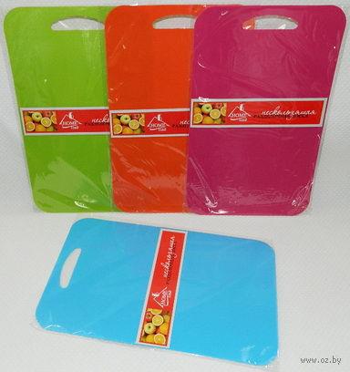 Доска разделочная пластмассовая (405х255х2 мм)