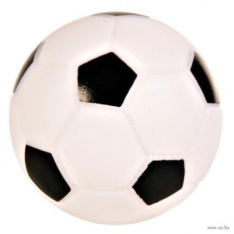 """Игрушка для собак с пищалкой """"Футбольный мяч"""" (6 см) — фото, картинка"""