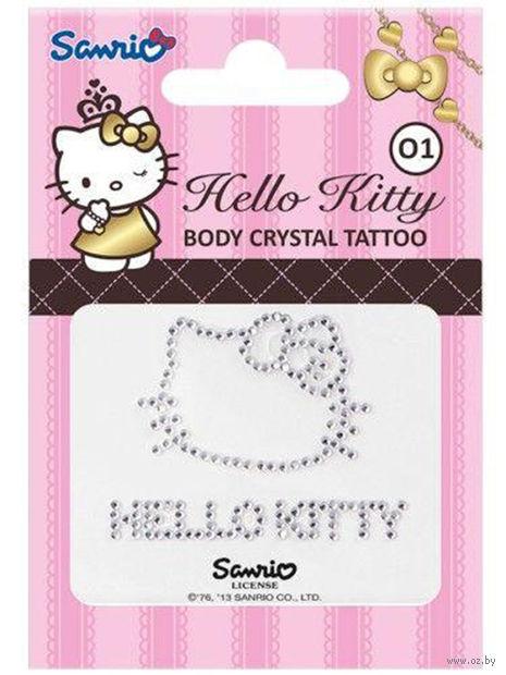 """Стразы для тела """"Hello Kitty"""" (тон: 01)"""