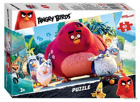 "Пазл ""Angry Birds"" (60 элементов) — фото, картинка"
