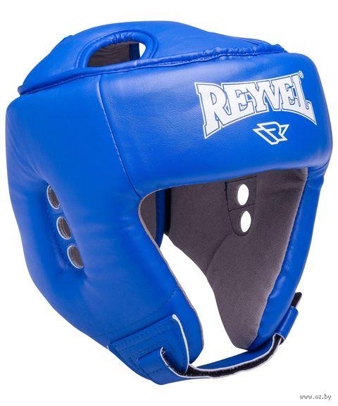 Шлем открытый (L; синий; арт. RV-302) — фото, картинка