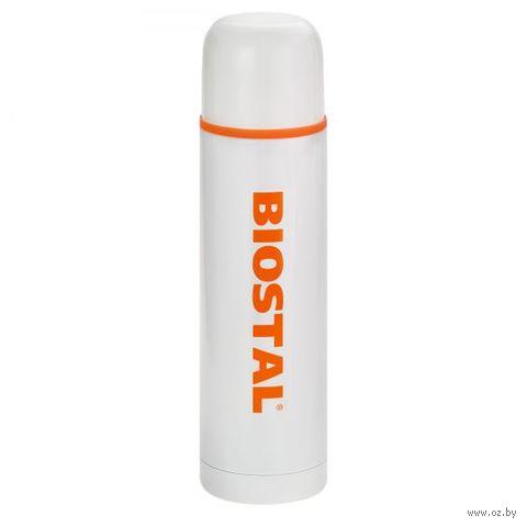 Термос Biostal NB-1000C-W (1 л; белый) — фото, картинка