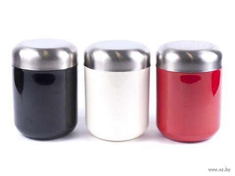 Банка для сыпучих продуктов металлическая (1,8 л; арт. 98504-13) — фото, картинка