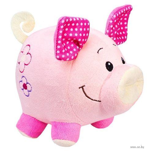"Мягкая игрушка ""Свинка Бусинка"" (20 см) — фото, картинка"