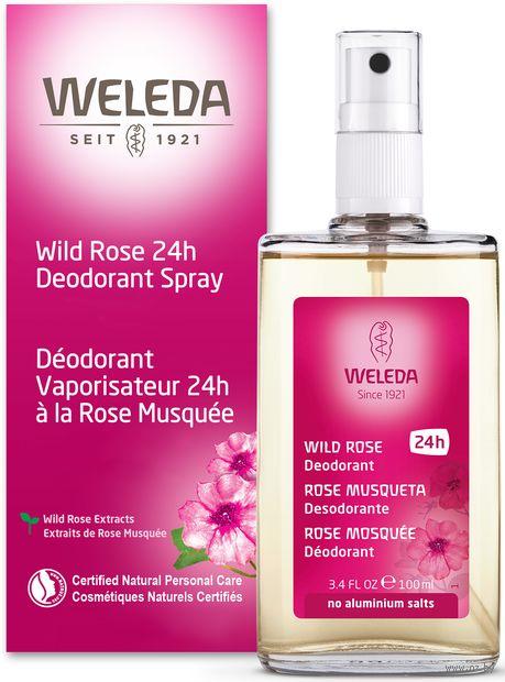 """Дезодорант для женщин """"Wildrose"""" (спрей; 100 мл) — фото, картинка"""