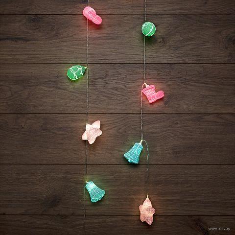 """Гирлянда """"Новый год"""" (10 лампочек; арт. 303-081) — фото, картинка"""