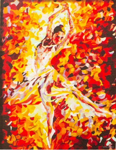 "Картина по номерам ""Балерина"" (300x400 мм; арт. ME042)"