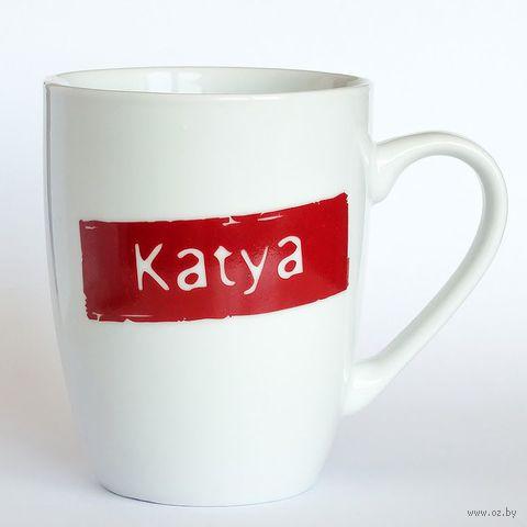 "Кружка высокая Name Is ""KATYA"""