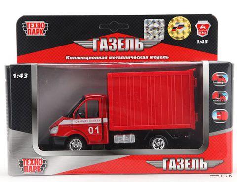 """Модель машины """"Газель. Пожарный фургон"""" (масштаб: 1/43)"""