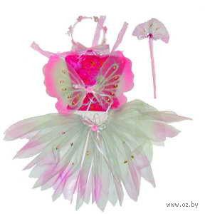 """Набор карнавальный """"Бабочка"""" (юбка, крылья, палочка, обруч)"""