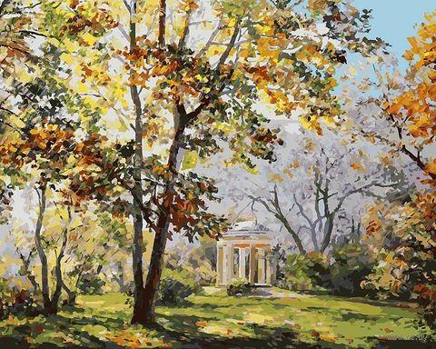 "Картина по номерам ""Ротонда в парке Екатерингоф"" (400х500 мм)"