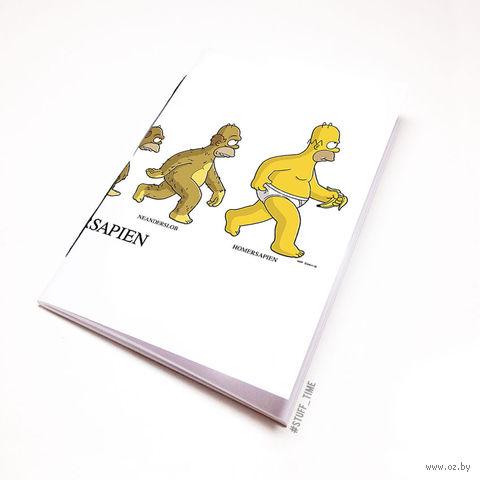 "Блокнот ""Симпсоны"" (А5; арт. 409) — фото, картинка"