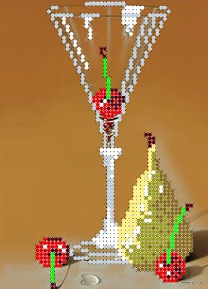 """Вышивка бисером """"Пьяная вишня"""" (120х160 мм) — фото, картинка"""