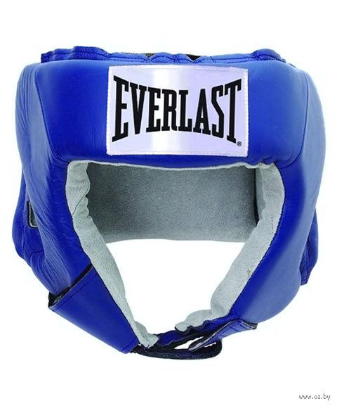 "Шлем открытый ""USA Boxing"" (M; синий; арт. 610206U) — фото, картинка"