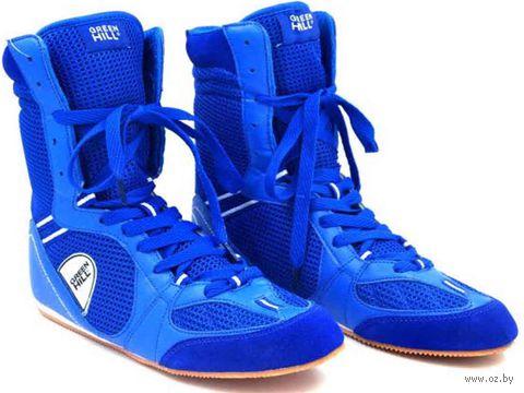 Обувь для бокса PS005 (р. 43; синяя) — фото, картинка