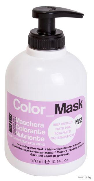 """Тонирующая маска для волос """"Color Mask"""" тон: пастельная роза — фото, картинка"""