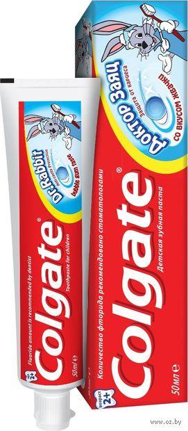 """Зубная паста детская """"Доктор Заяц. Со вкусом жвачки"""" (50 мл) — фото, картинка"""
