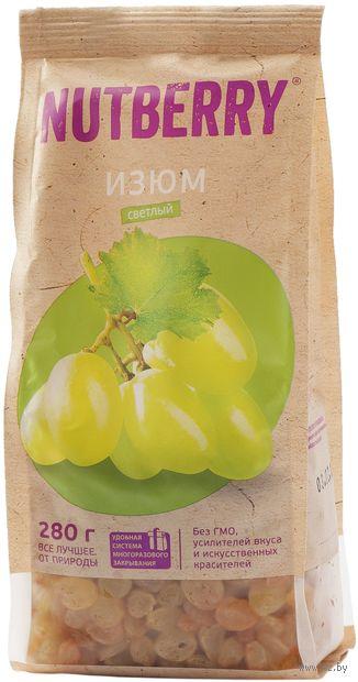"Изюм ""Nutberry. Светлый"" (280 г) — фото, картинка"