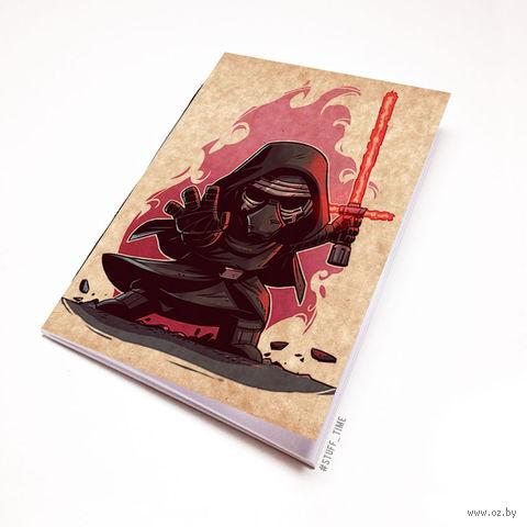 """Блокнот крафт """"Звездные войны"""" А7 (891)"""