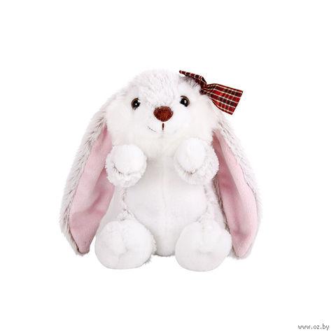 """Мягкая игрушка """"Крольчиха с бантиком"""" (19 см)"""