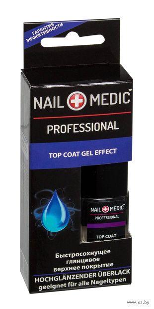 """Верхнее покрытие для ногтей """"Top Coat Gel Effect"""" — фото, картинка"""
