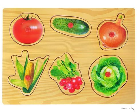 "Рамка-вкладыш ""Овощи"" (арт. D0122-2) — фото, картинка"