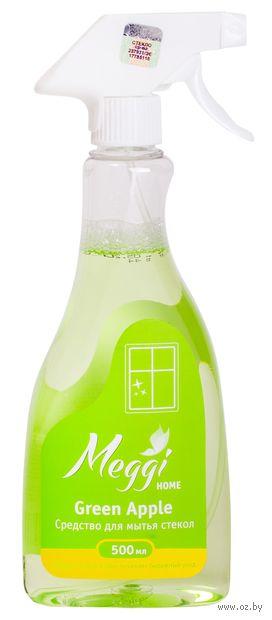 """Средство для чистки стекол """"Green Apple"""" (500 мл) — фото, картинка"""