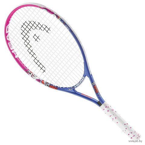 """Ракетка для большого тенниса """"Maria 21 Gr05"""" (синий/белый/розовый) — фото, картинка"""