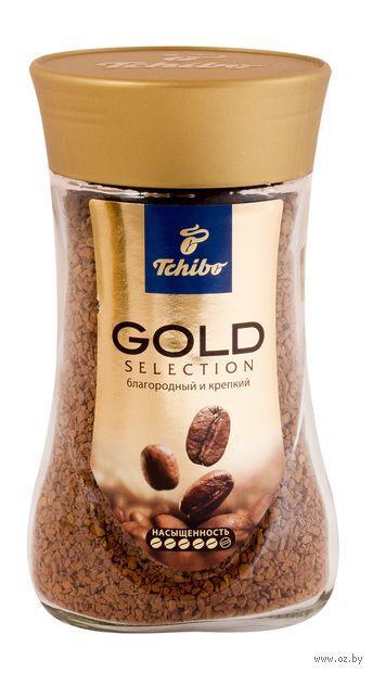 """Кофе растворимый """"Tchibo. Gold Selection"""" (190 г) — фото, картинка"""